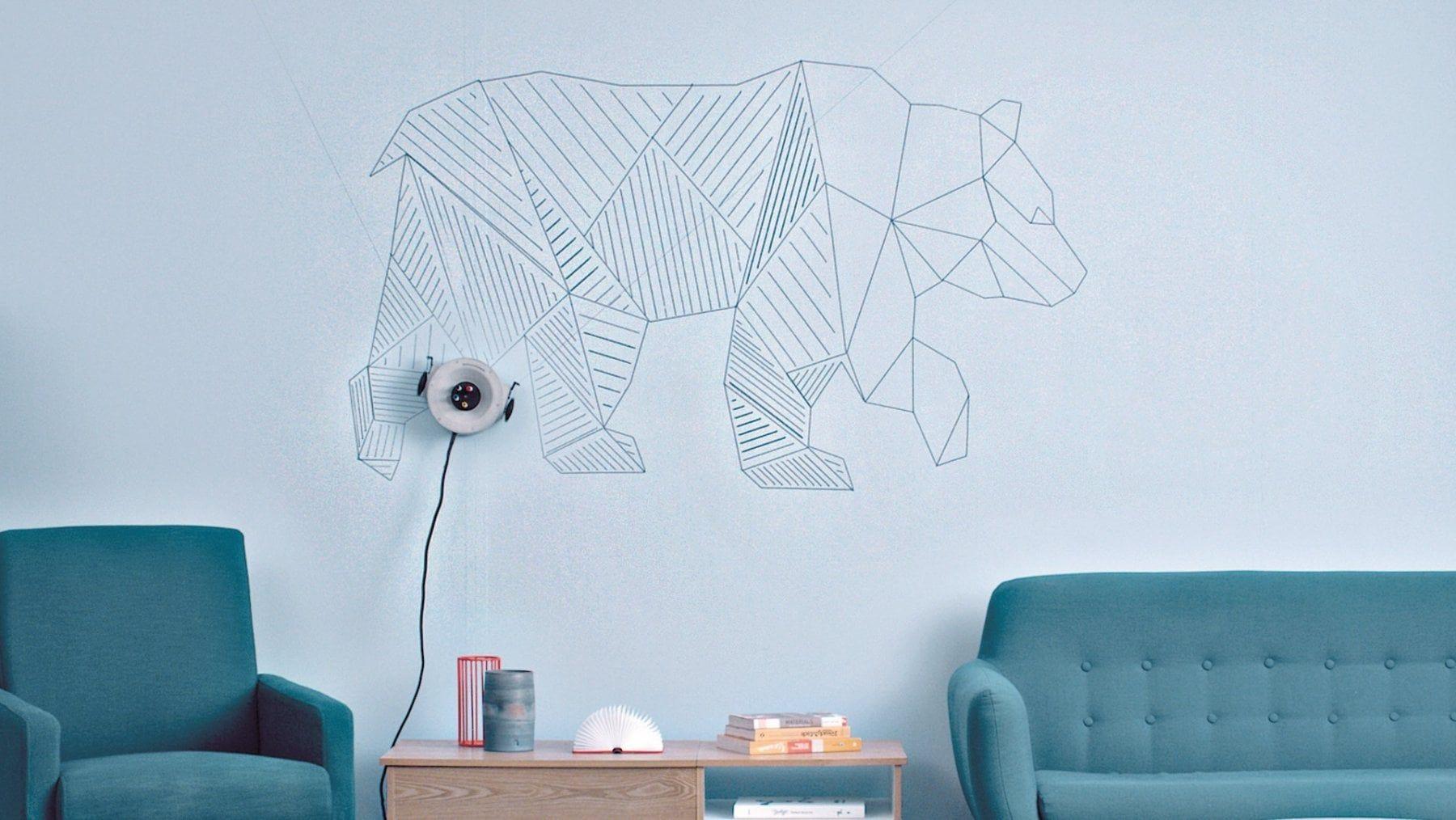 """Disegni Sui Muri Di Casa il robot artista (italiano) che dipinge sui muri: """"È lo"""