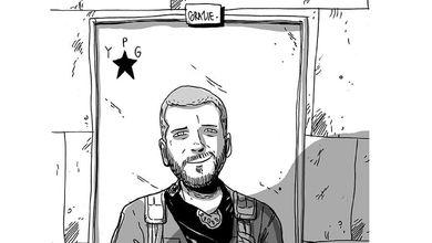 Il padre di Lorenzo Orsetti, combattente ucciso dall'Isis: «Musica e disegni per restare umani»<br />