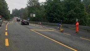 Statale della valle Vigezzo, da lunedì 18 torna il senso unico alternato sul viadotto di Gagnone