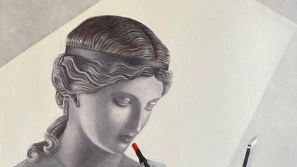 """GalleriArteBagutta: la poetica femminile antico-moderno di Carmen Dragone, l'arte del """"nulla si getta"""" di Pietro Messina"""