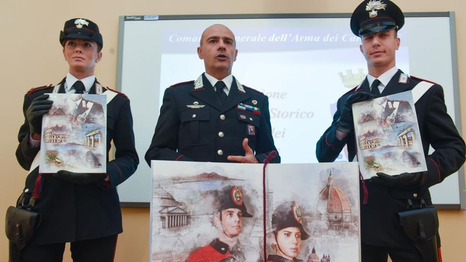 Calendario Storico Carabinieri 2019.L Ivrea Industriale Nel Calendario Storico Dei Carabinieri