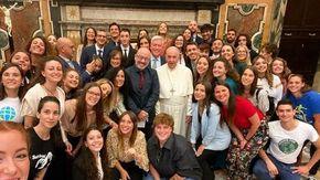 """Il Papa incontra in udienza Cingolani e Cop Giovani: """"Non siete il futuro, ma il presente"""""""