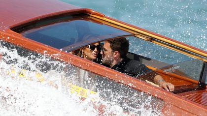 JLo e Ben Affleck a Venezia: i Bennifer arrivano alla Mostra