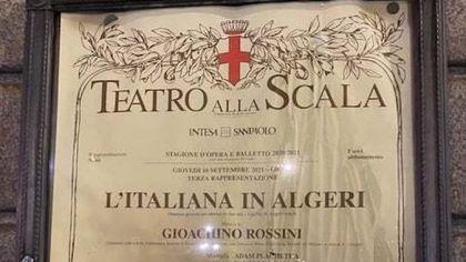 """Scala, l'appello del virologo Burioni sui social: """"Grazie al vaccino ci siamo goduti dal vivo una bellissima 'Italiana in Algeri' di Rossini"""""""