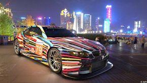 Le 'auto artistiche' di Bmw diventano digitali, ecco la mostra di Art Cars in realtà aumentata