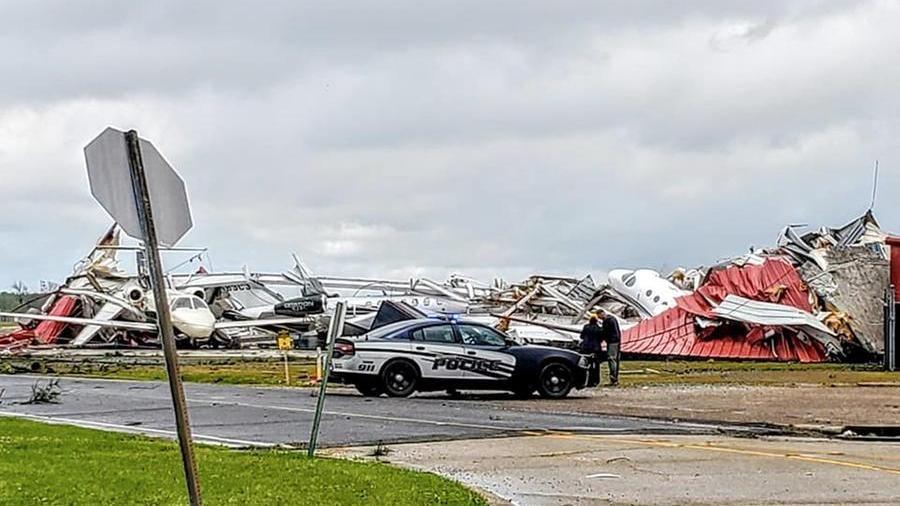 """Usa, tornado flagella il Mississippi: """"Sei morti, danni ..."""