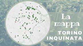 I 103 siti inquinati di Torino divisi per quartiere