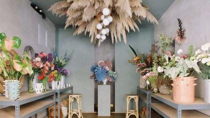 Il primo studio floreale di Dylan Tripp è un'ex sartoria artigianale