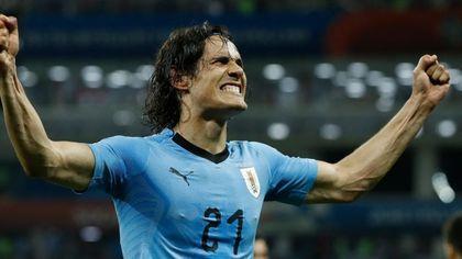 Uruguay-Portogallo 2-1: Cavani 'mata' Ronaldo, Celeste ai quarti