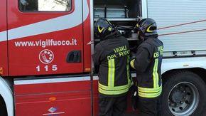 Incendio nella discarica di strada Altavilla di Casale Monferrato