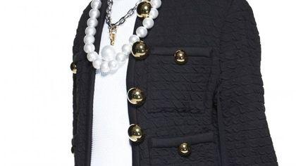 La collana di perle oversize