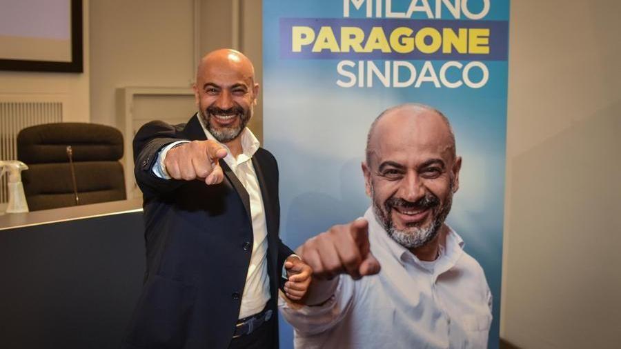 """La Milano di Gianluigi Paragone: """"Io outsider fra i candidati fighetti"""" -  La Stampa"""