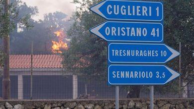 Rogo nell'Oristanese, proseguono gli interventi di soccorso: in arrivo due Canadair dalla Francia, altri due giunti dalla Grecia