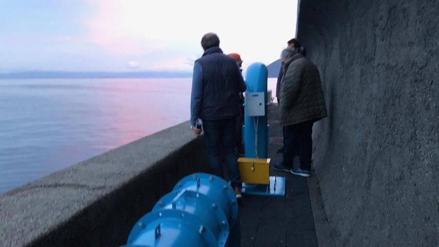 Lipari, così le onde del mare creano elettricità e proteggono le coste
