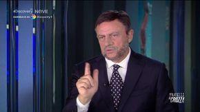 """Crozza-Salvini e la rabbia per l'abbandono del guru dei social: """"Senza Morisi non so neanche dove abito"""""""