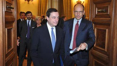 """Giustizia, telefonata Draghi-Letta: """"Impegno del Pd per la mediazione"""""""