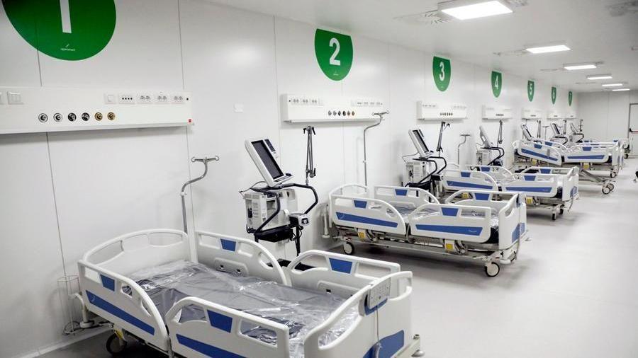 Ospedale Fiera Bergamo Riapre Il Secondo Hub Covid Della Lombardia La Stampa