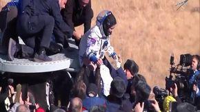 Russia, girato il primo film nello spazio: la troupe ritorna sulla Terra
