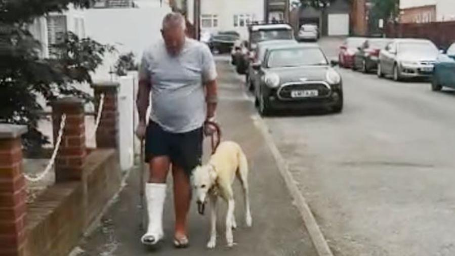 Porta il cane che zoppica dal veterinario, spende oltre 300 sterline per poi scoprire che lo stava solo imitando