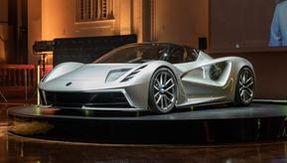 Lotus Evija, the brand's first electric, has 2,000 horsepower