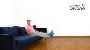 Ginnastica da divano: esercizio 1
