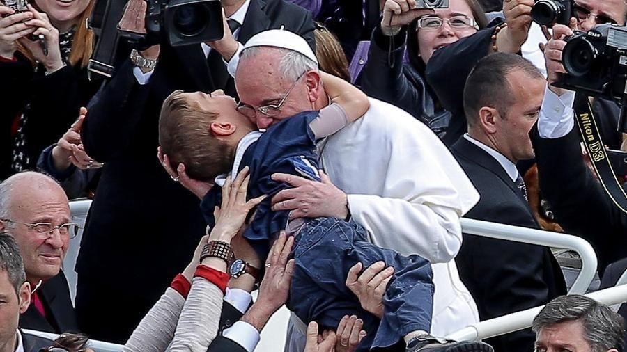 Papa Francesco (foto d'archivio)