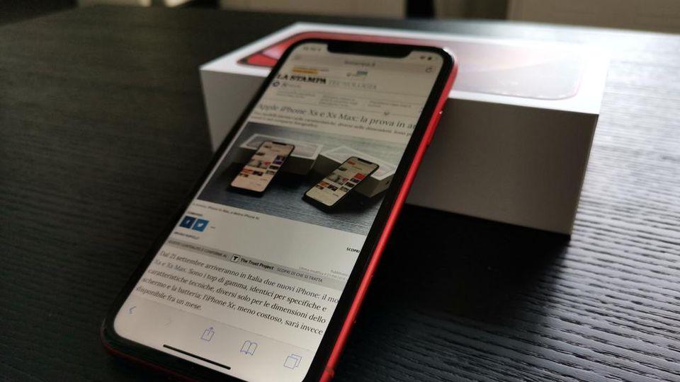 Come Va Liphone Xr Di Apple Ecco La Nostra Prova La Stampa