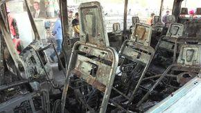 Siria, attentato contro un bus militare a Damasco: almeno 13 morti e diversi feriti