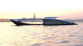 """The Shape, il super yacht italiano da 80 milioni di euro con un """"buco"""" al centro"""