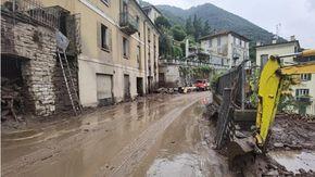 Allarme maltempo, 120 persone evacuate da un campeggio sul lago di Como