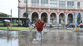 Piogge, nubifragi e grandine: a Torino raddoppiate le precipitazioni
