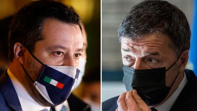 Matteo Salvini e il trionfo al supermercato, Renzi ci riprova con l'Inglese: vota il peggio del palazzo