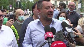 """Salvini: """"Se serve mi candido come capolista a Milano"""""""