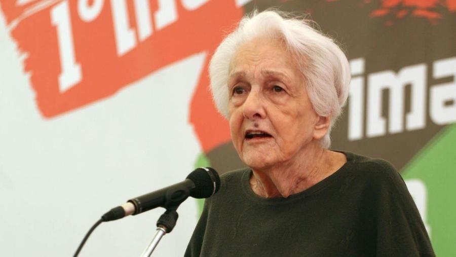 """E' morta Rossana Rossanda. Zingaretti: """"Ci ha insegnato il valore del dissenso"""""""