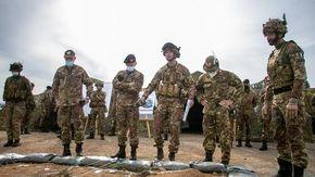 La maxi esercitazione con oltre 700 soldati alla guerra simulata