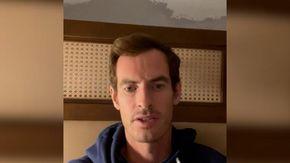 """Tennis, l'appello di Andy Murray dopo il furto delle scarpe: """"Ai lacci era legata la fede nuziale"""""""