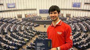 """Il secondo """"Cittadino europeo del 2021""""? E' Andrea Borello, di Caselle"""