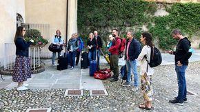 Il nuovo volo da Monaco a Levaldigi porta i giornalisti tedeschi sotto il Viso
