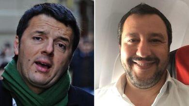 Le querele a caso di Matteo Renzi e le giravolte di Matteo Salvini: vota il peggio