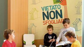A Torino una casa per i libri da leggere con i cinque sensi: Vietato non sfogliare
