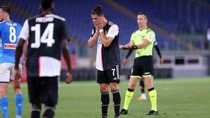 Coppa Italia, Juve battuta ai rigori: la delusione di Cristiano Ronaldo