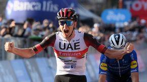 """Ciclismo, lo sloveno Pogacar trionfa al giro di Lombardia: """"Una giornata meravigliosa"""""""