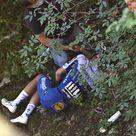 Ciclismo, la terribile caduta di Evenepoel al Lombardia