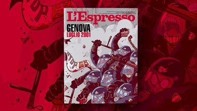 Genova, Luglio 2001: L'Espresso in edicola e online da domenica 4 luglio