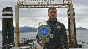 """Boxe, Ivan Zucco difende a Verbania la cintura tricolore: """"L'attesa è alta: non posso deludere"""""""