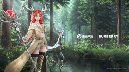 Moda e videogames: Burberry veste un'eroina digitale