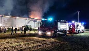 Cascina in fiamme nel Torinese, in salvo oltre cento mucche