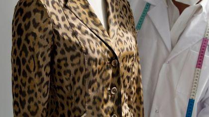 La Mizza Bar Jacket con stampa leopardata