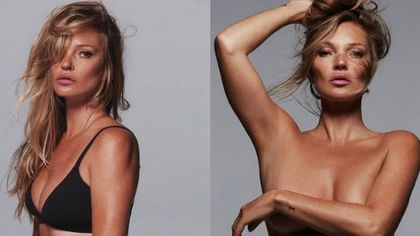 Kate Moss testimonial per Skims, il brand di Kim Kardashian