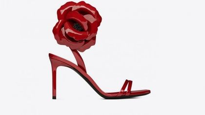 Sandalo vernice red passion